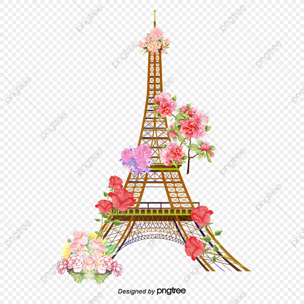 Vector Eiffel Tower, Eiffel Tower, Paris Pattern, Beautiful PNG and.