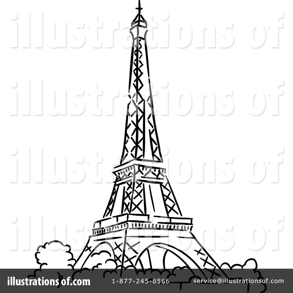 Eiffel Tower Clipart #1218428.