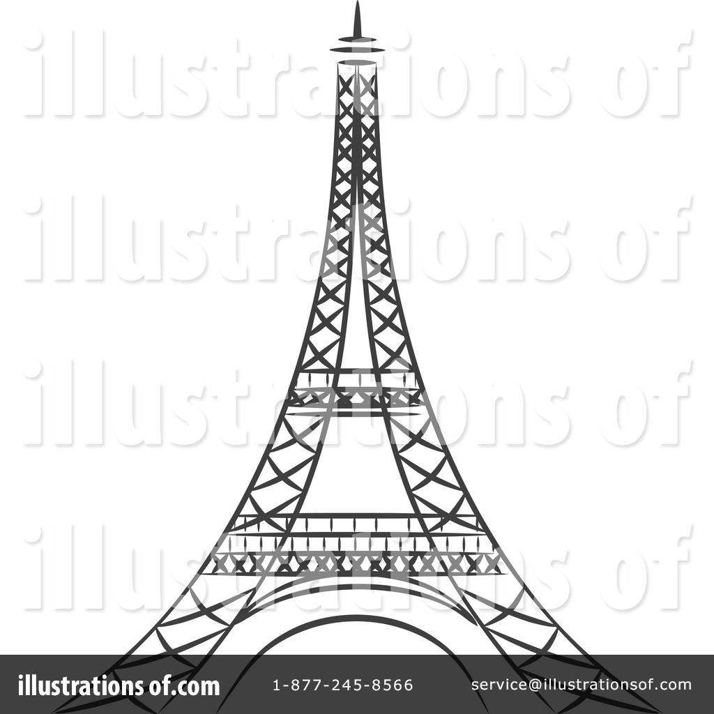 Eiffel Tower Clipart #1214812.