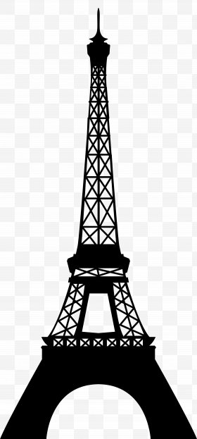 Eiffel Tower Clip Art, PNG, 640x960px, Eiffel Tower, Area, Black And.