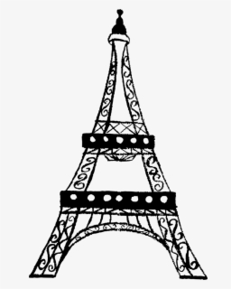 Free Eiffel Tower Clip Art with No Background.