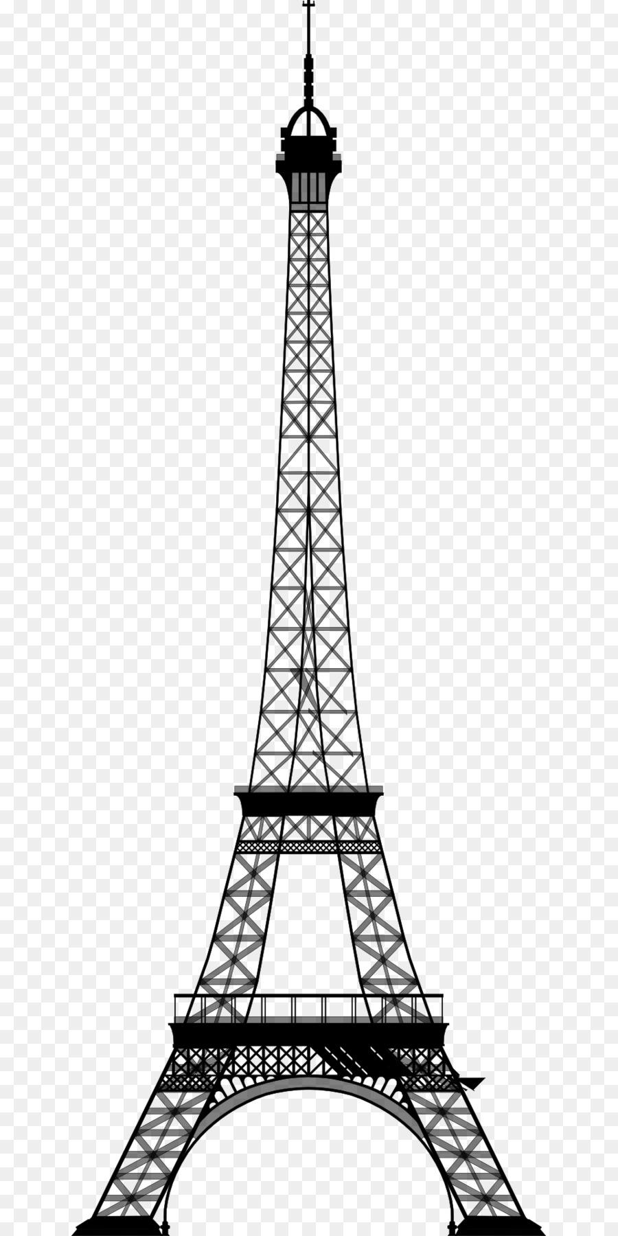Eiffel Tower Drawing.