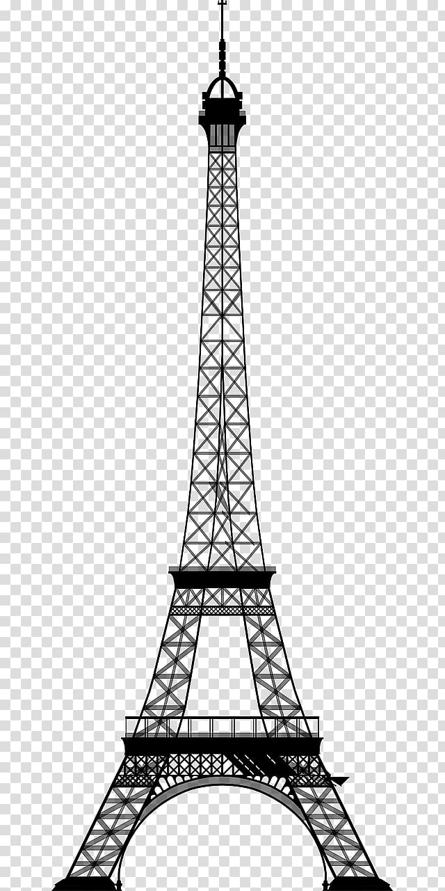 Eiffel Tower Drawing , eiffel transparent background PNG.
