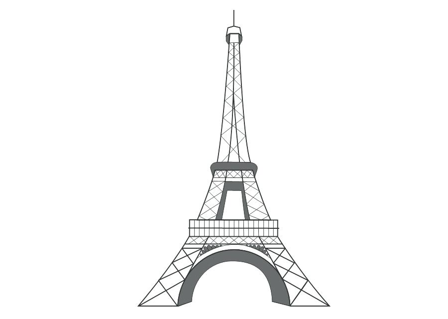 Eiffel Tower Vector Free at GetDrawings.com.