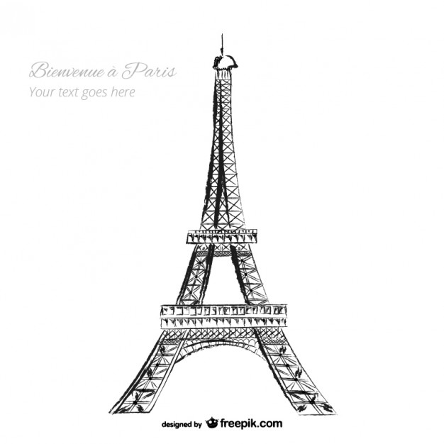 The Eiffel Tower Vectors, Photos and PSD files.