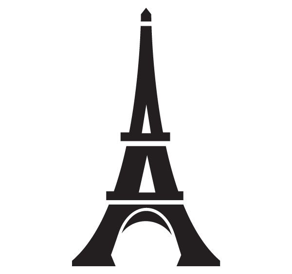 Eiffel tower line drawing clipart free clip art images image.
