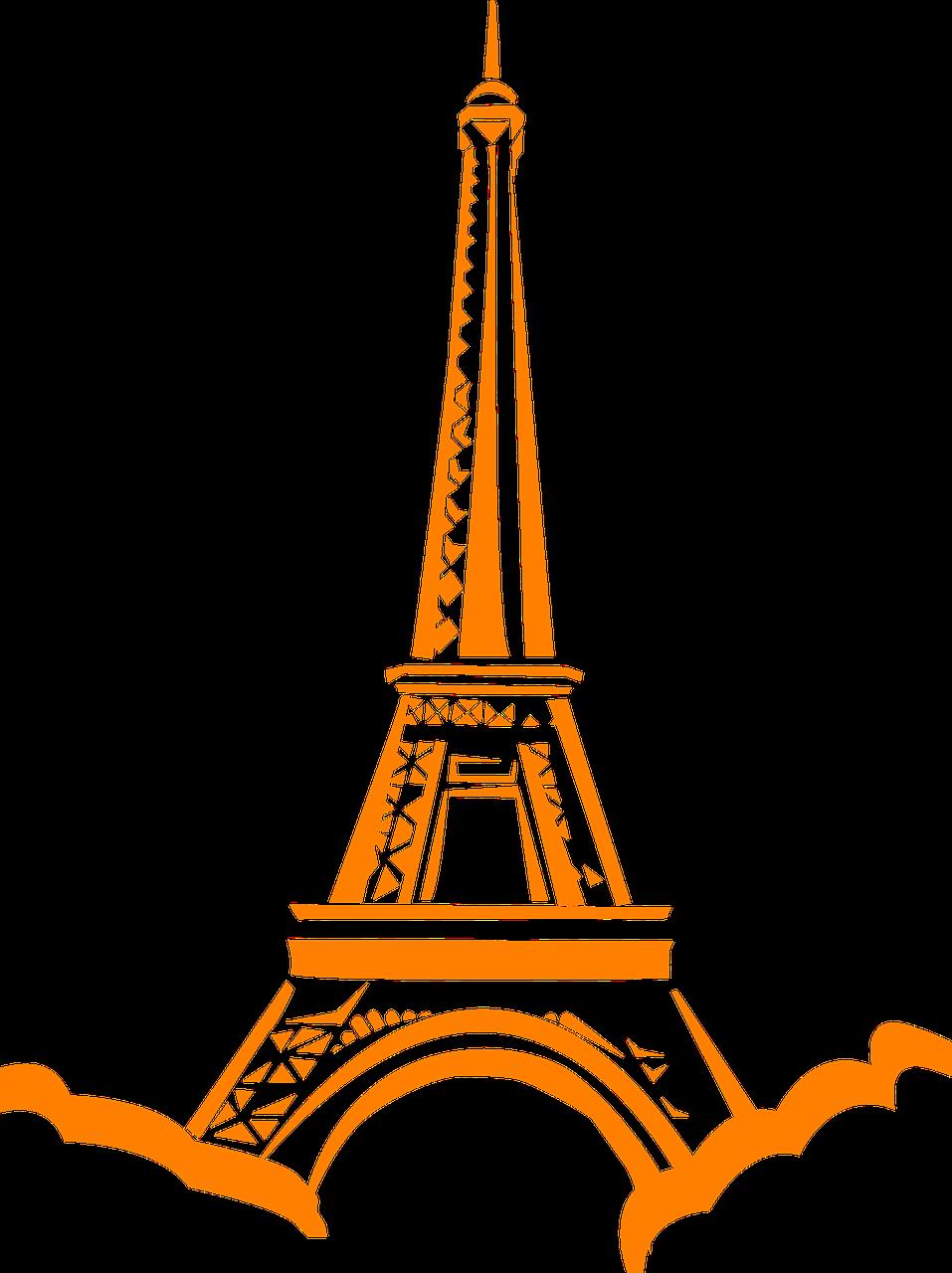 France, Eiffel, Tower, Paris, Landmark, France #france.