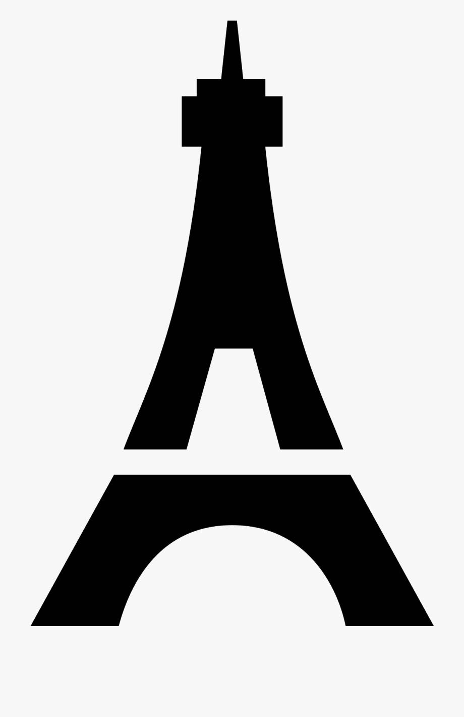 Eiffel Tower Icon.