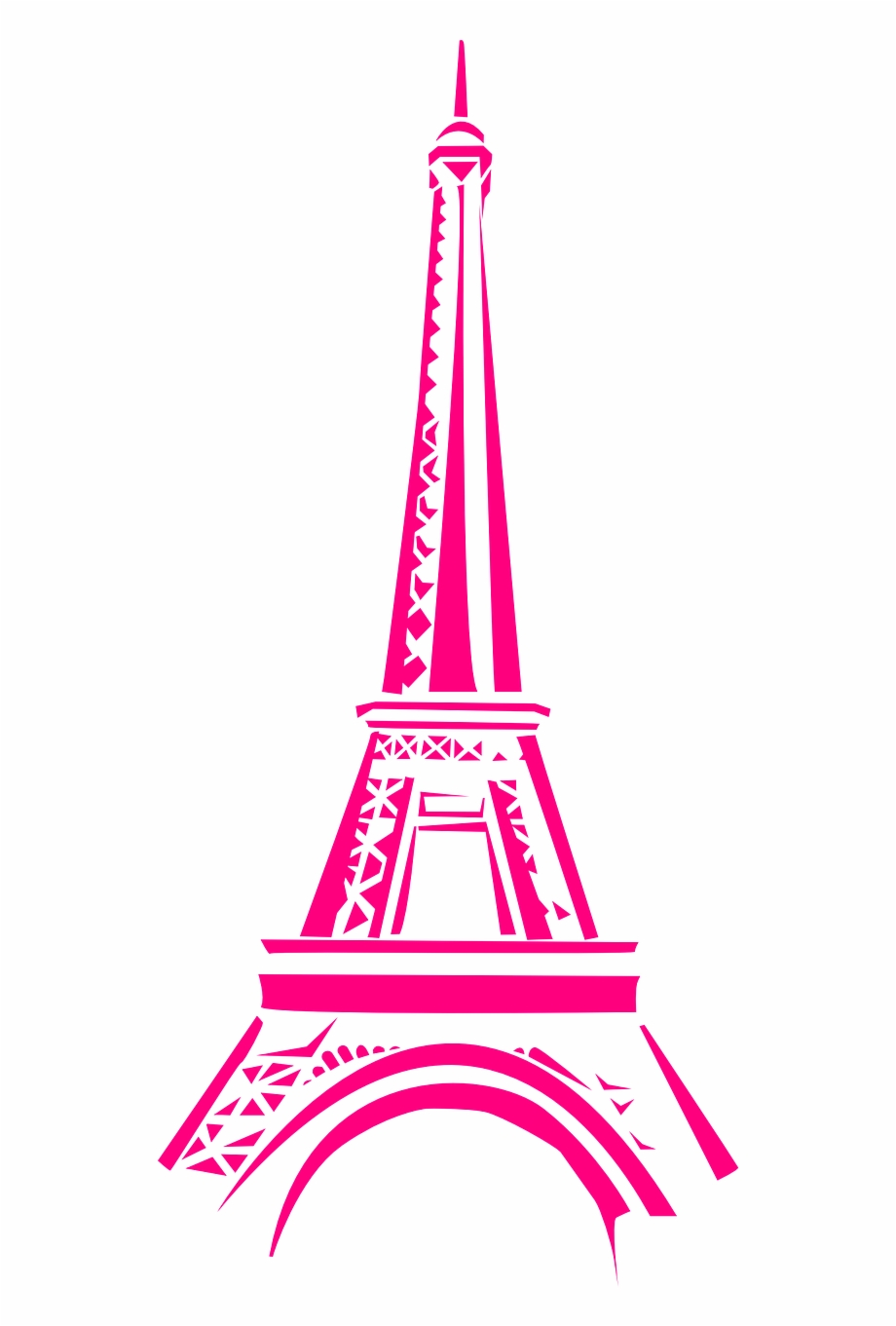 Eiffel Tower Tower Paris France Png Image.