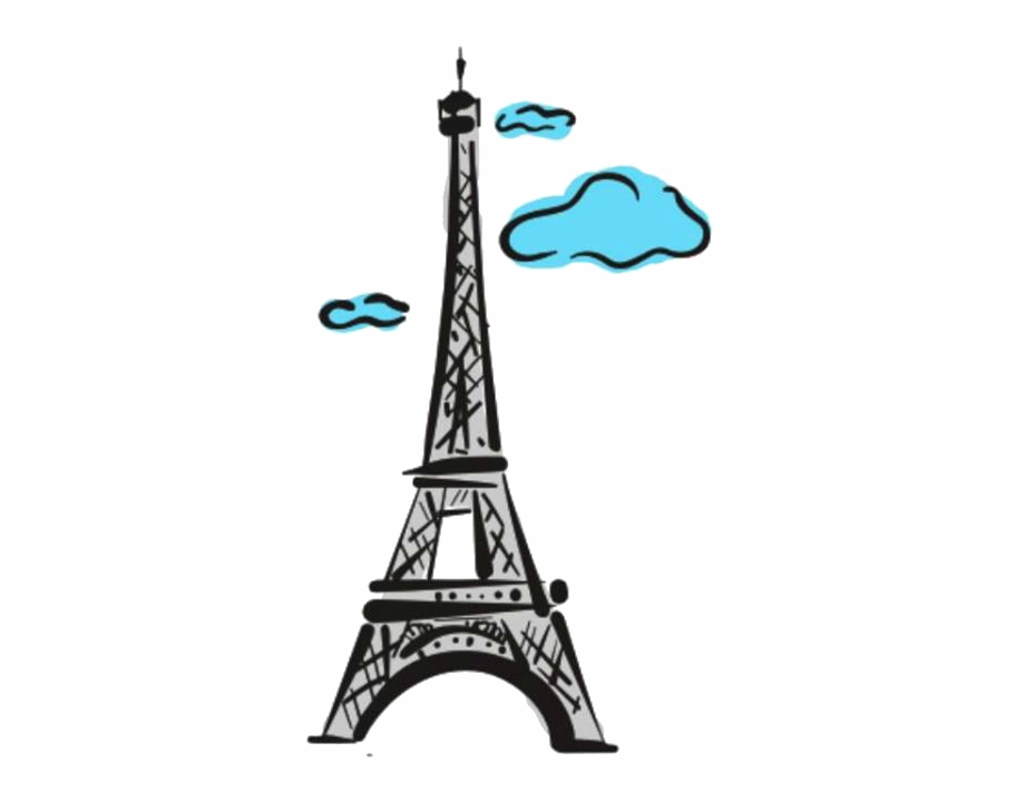 Eiffel Tower Png Cute.