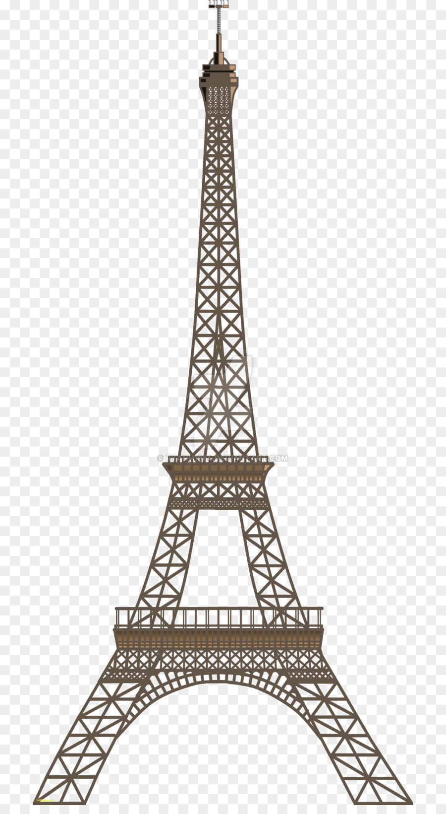 1872 Paris free clipart.