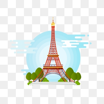 Eiffel Tower PNG Images.