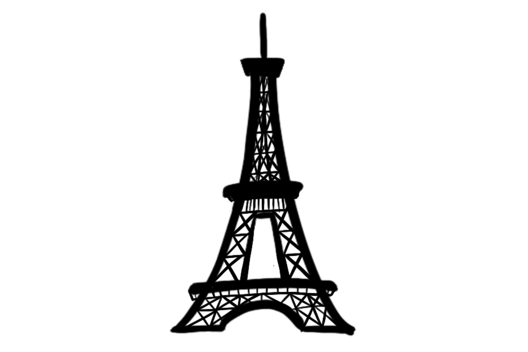 Eiffel Tower Silhouette.