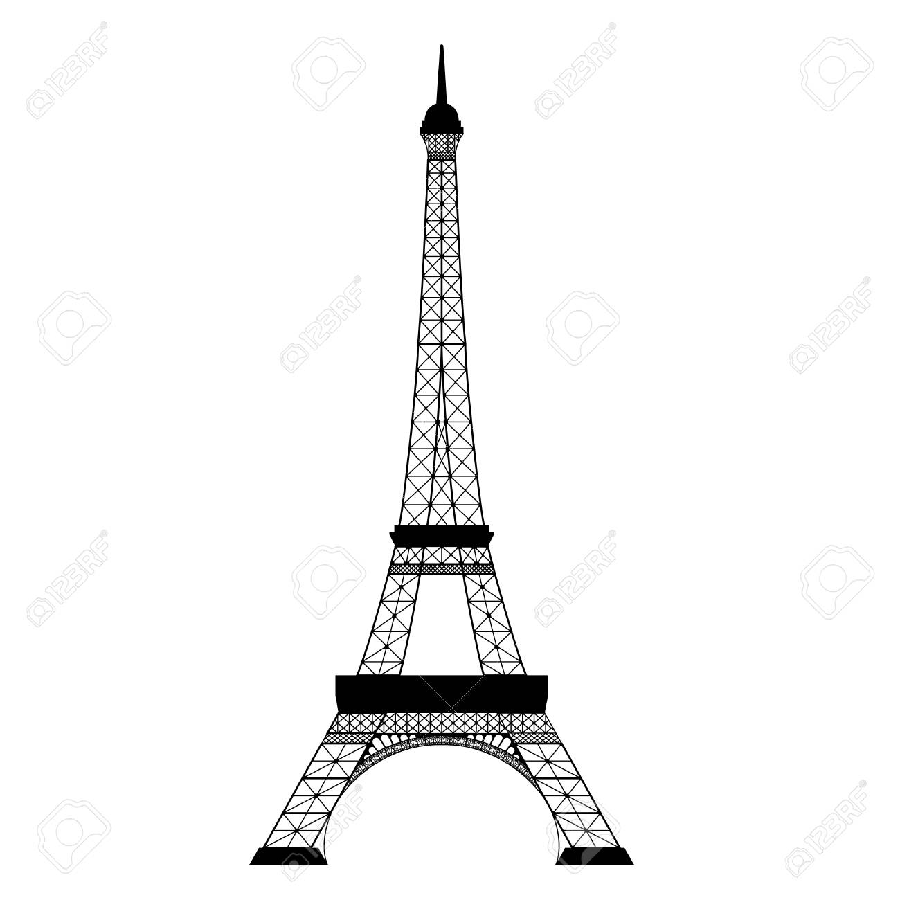 Eiffel Tower Vector & Free Eiffel Tower Vector.png.