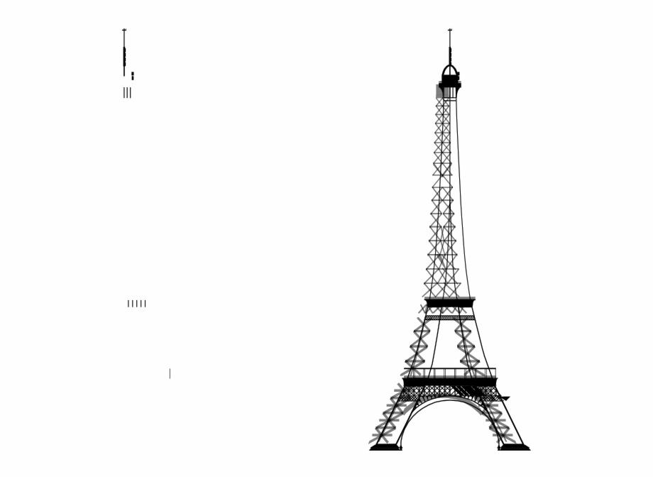 La Tour Eiffel Big Clip Art At.