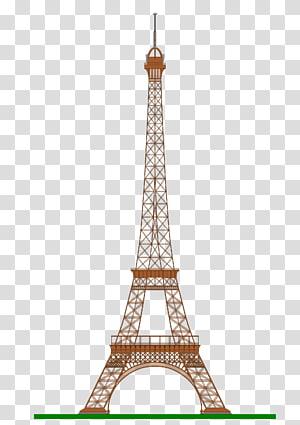 Eiffel Tower, Paris sketch illustration, Eiffel Tower Drawing.