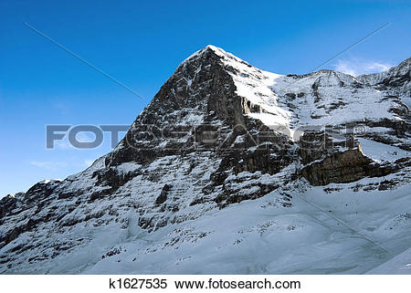 Stock Image of The Eiger k1627535.
