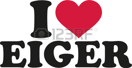 I Love Eiger Royalty Free Cliparts, Vectors, And Stock.