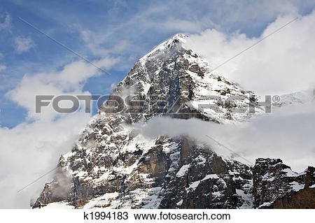 Stock Photo of Eiger north face k1994183.