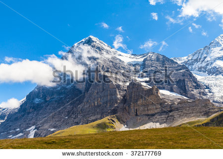 Eiger North Face Stock Photos, Royalty.