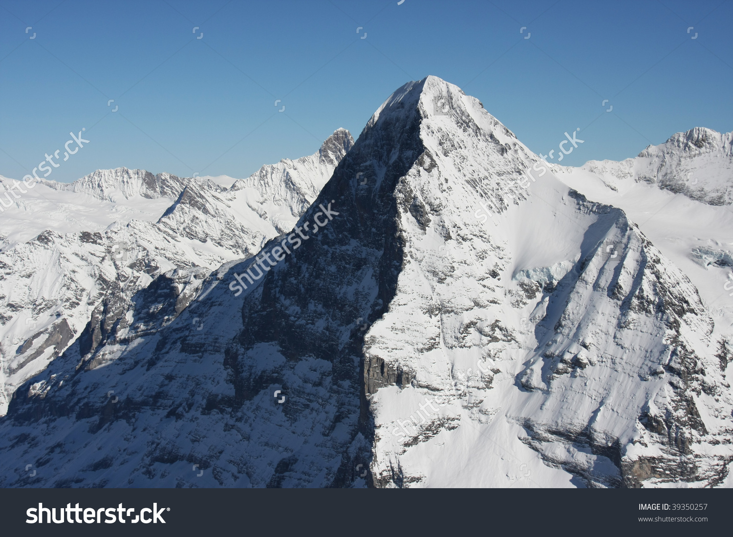 Eiger North Face, Swiss Alps Stock Photo 39350257 : Shutterstock.