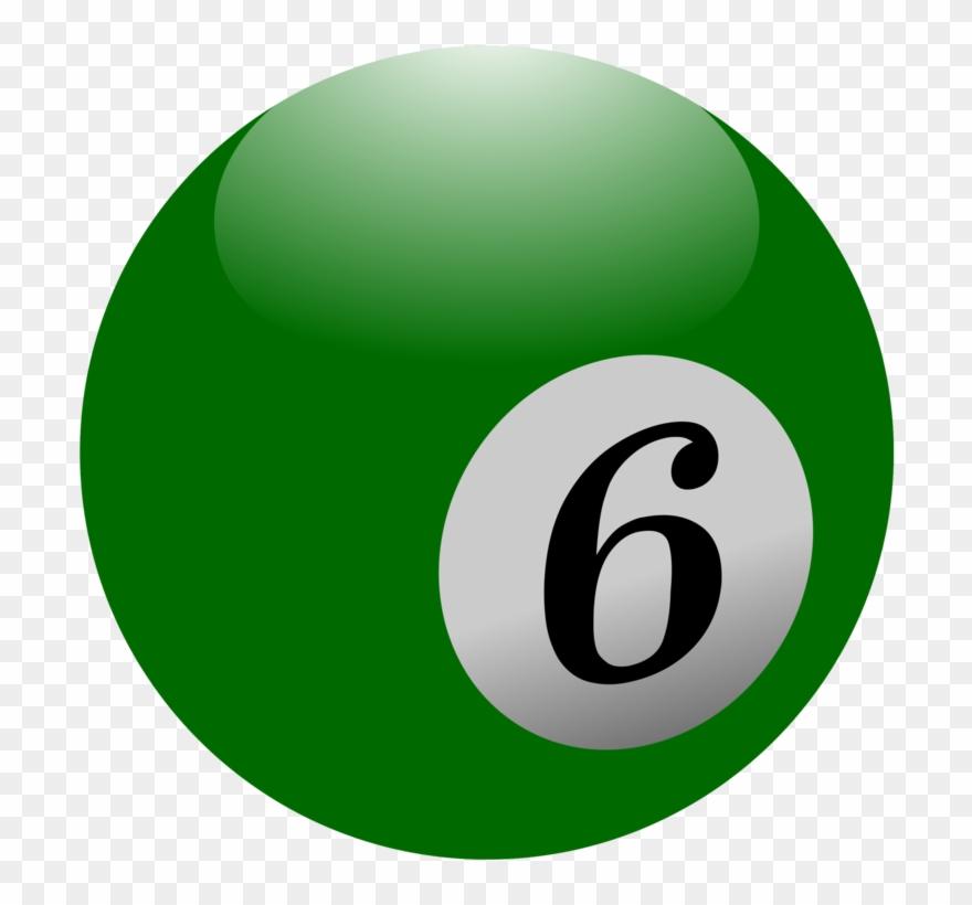 Billiard Balls Eight.