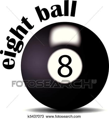 Eight ball Clipart.
