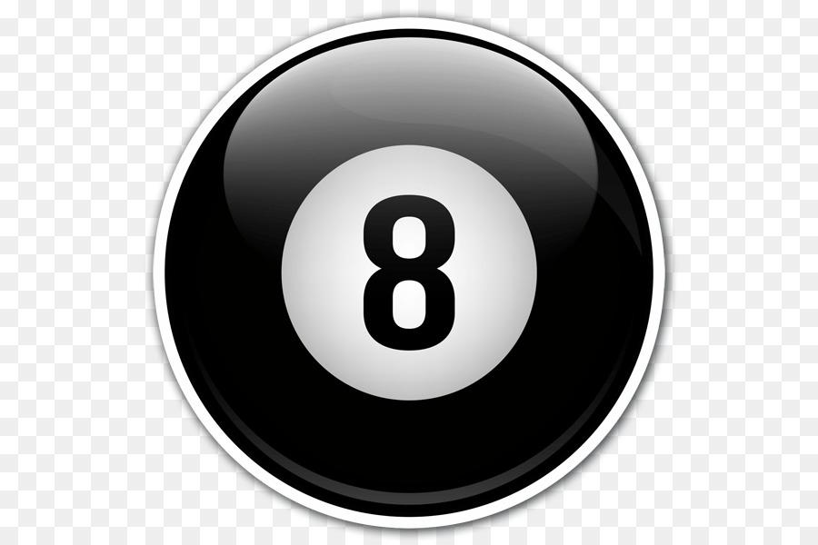 bola de billar 8 clipart Billiards Eight.