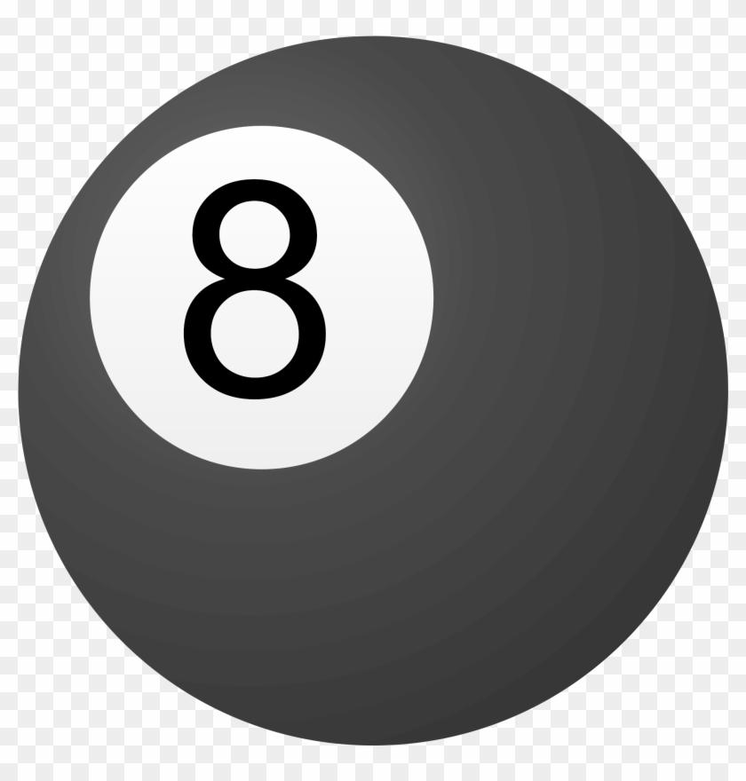Clipart 8 Ball.