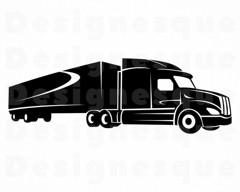 Truck Driver #7 SVG, Truck SVG, 18 Wheeler, Trucker, Truck Clipart, Truck  Files for Cricut, Truck Cut Files For Silhouette, Dxf, Png, Vector.