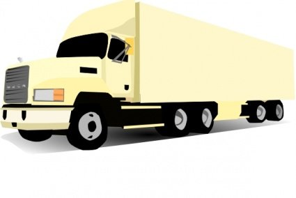 Free 18 Wheeler Truck Clipart and Vector Graphics.