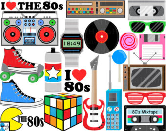 80s boombox clipart.