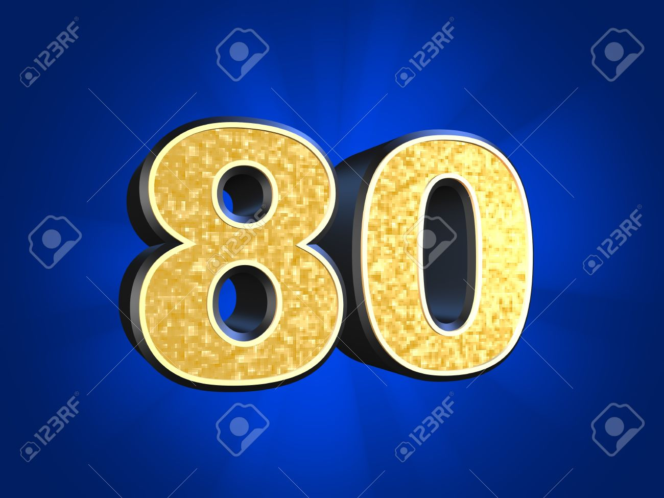 Number 80 clipart.