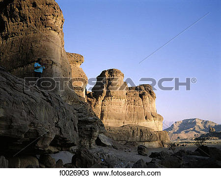 Stock Photo of Israel, Eilat vicinity, Negev desert, Timna park.