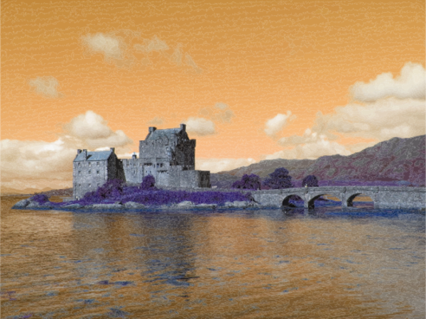 Eilean Donan Castle Scotland UK Attempt 2.