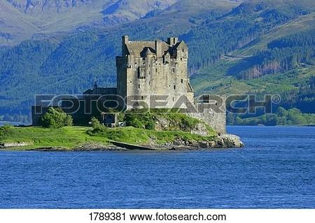 Eilean donan castle clipart.