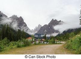 Stock Fotografi av fjäll, Italien, Tyrol, Dolomiterna, sexten.