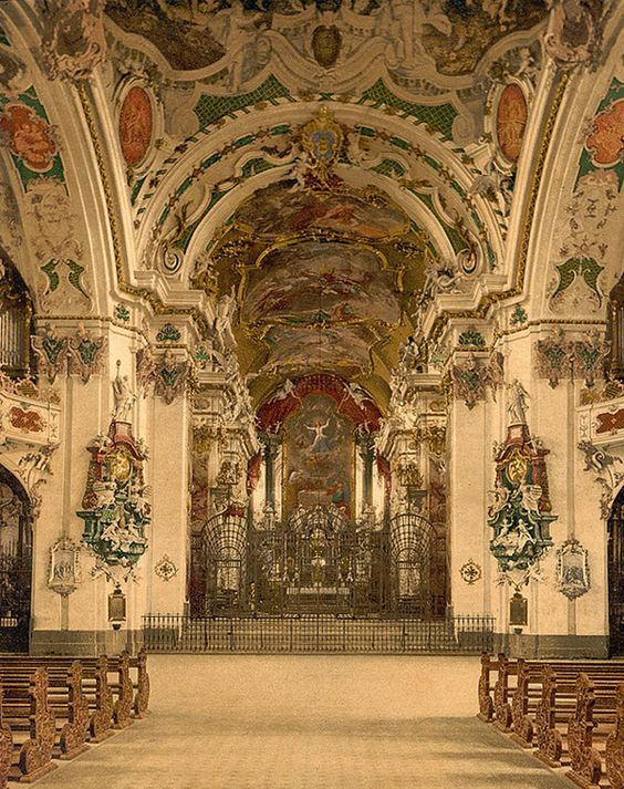 Baroque, Church and Switzerland on Pinterest.