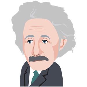 Albert Einstein clipart, cliparts of Albert Einstein free download.