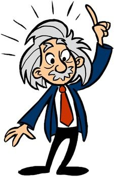 Albert Einstein Free Clipart.