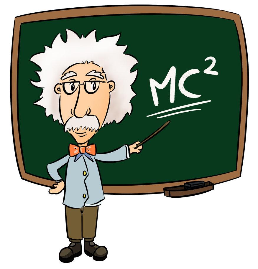 Einstein Clip Art.