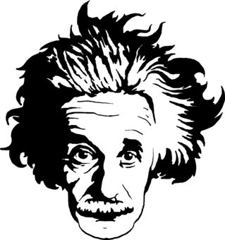 Free Einstein Clipart Black And White, Download Free Clip.
