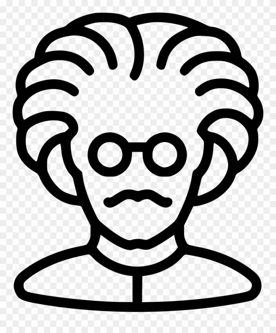 Einstein Clipart Svg.