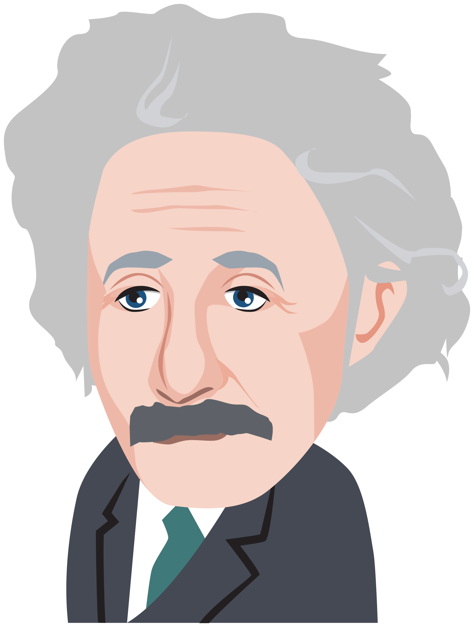 Albert einstein clipart clipart images gallery for free download.