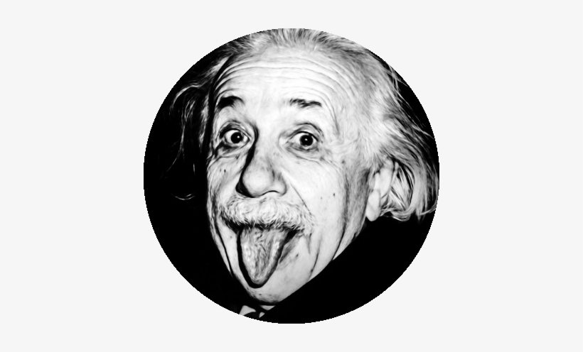 Albert Einstein Transparent PNG.