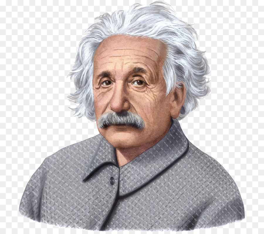 Albert Einstein Cartoon png download.