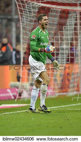 "Stock Images of ""Goalkeeper Kevin Trapp, Eintracht Frankfurt."