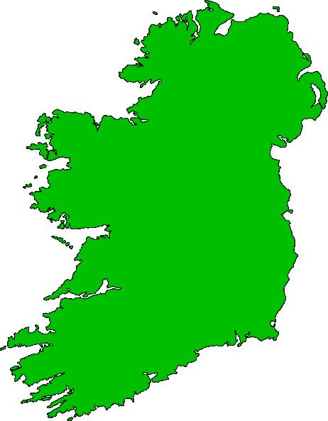 Clipart ireland map.