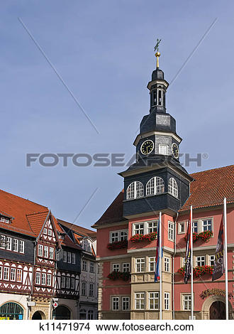 Stock Photo of Town hall of Eisenach, Germany k11471974.