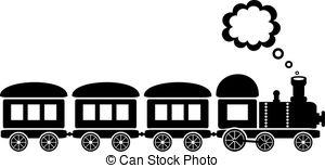 Eisenbahn clipart schwarz weiß » Clipart Station.